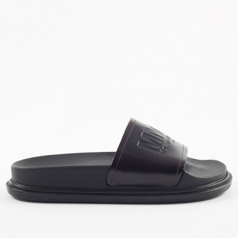 MM6 Vacchetta Slide - Black