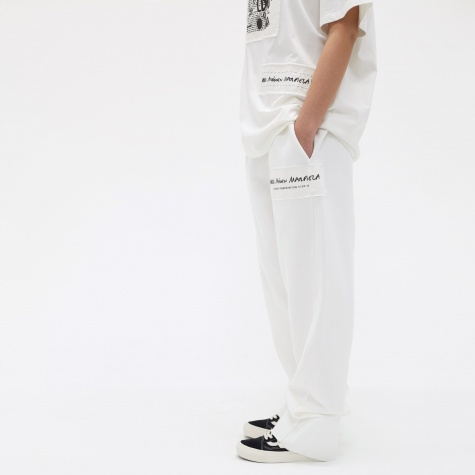 MM6 Basic Sweatpants - White