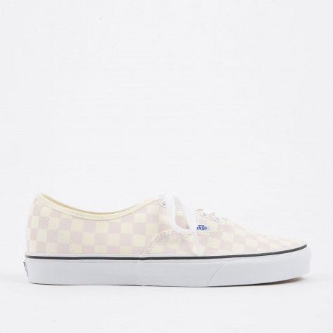 Authentic - Checkerboard Chalk Pink/White