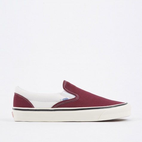Classic Slip-On 98 DX - BOG Burgundy/White