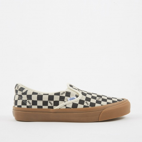 Vault OG Slip-On 59 LX Suede - Checkerboard/Light Gum