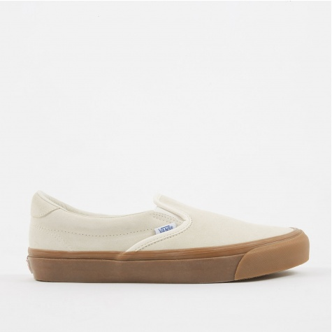 Vault OG Slip-On 59 LX Suede - Sugar Swizzle/Light Gum