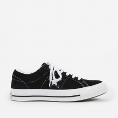 Converse One Star - Ox - Black/White/White