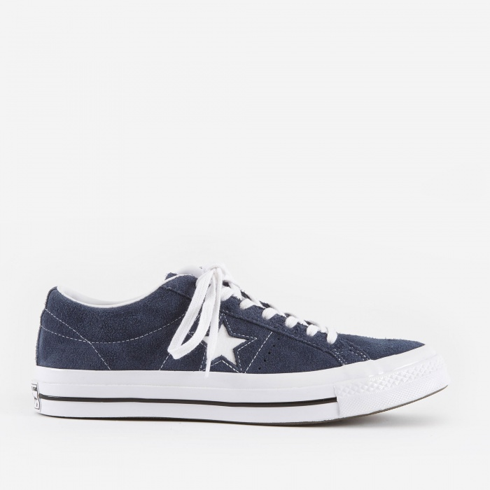 Converse One Star - Ox - Navy/White/White (Image 1)