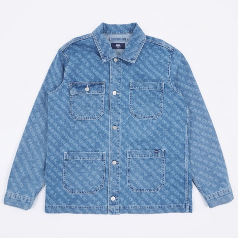 Ludo Denim Jacket - Vintage AOP
