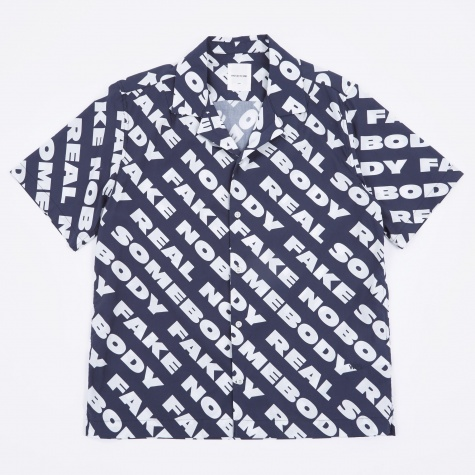 Brandon Shirt - Navy Nosome