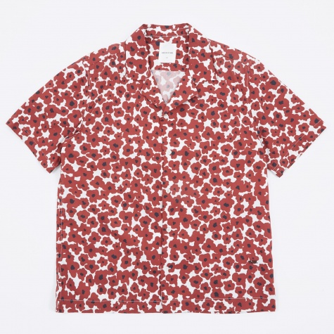 Brandon Shirt - Floral Red