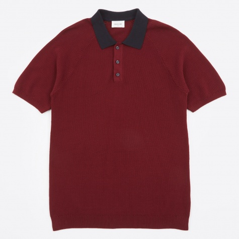 Kosmo Polo T-Shirt - Dark Red