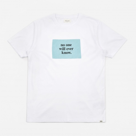 No One T-Shirt - Bright White