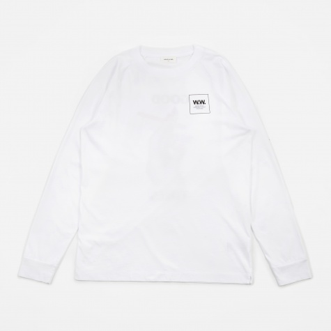 Han Long Sleeve T-Shirt - Bright White