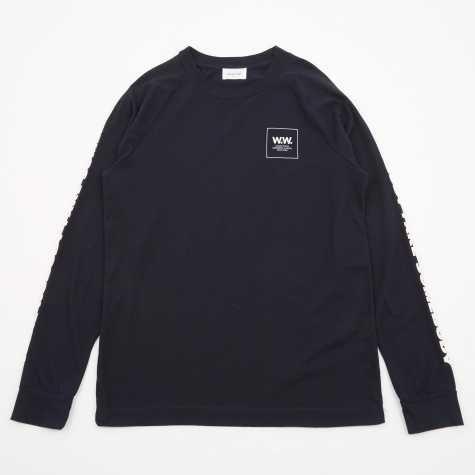Han Long Sleeve T-Shirt - Navy