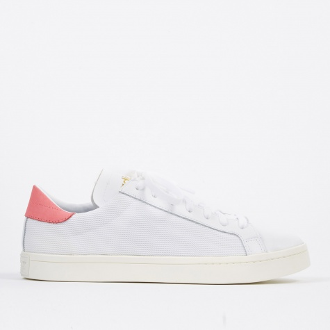 Court Vantage - White/Chalk Pink