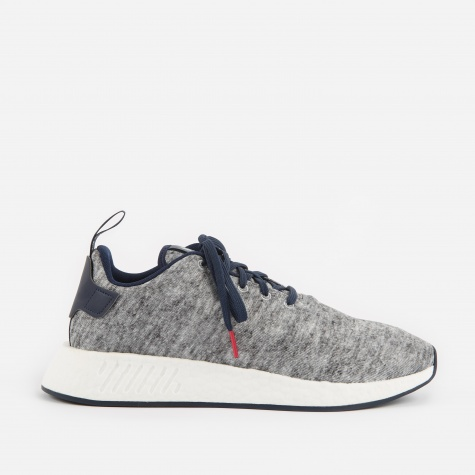 x United Arrows & Sons NMD R2 UAS - Core Heather/Matte Si