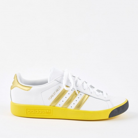 Forest Hills - White/Gold Met/EQT Yellow