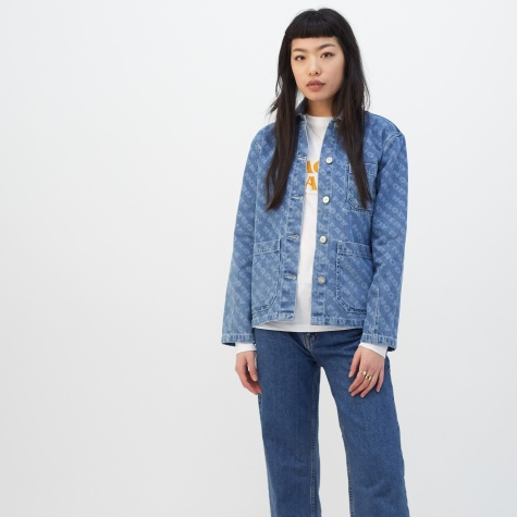 Giulia Denim Jacket - Vintage AOP