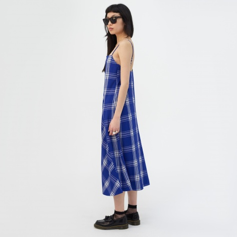 Aida Dress - Blue Check