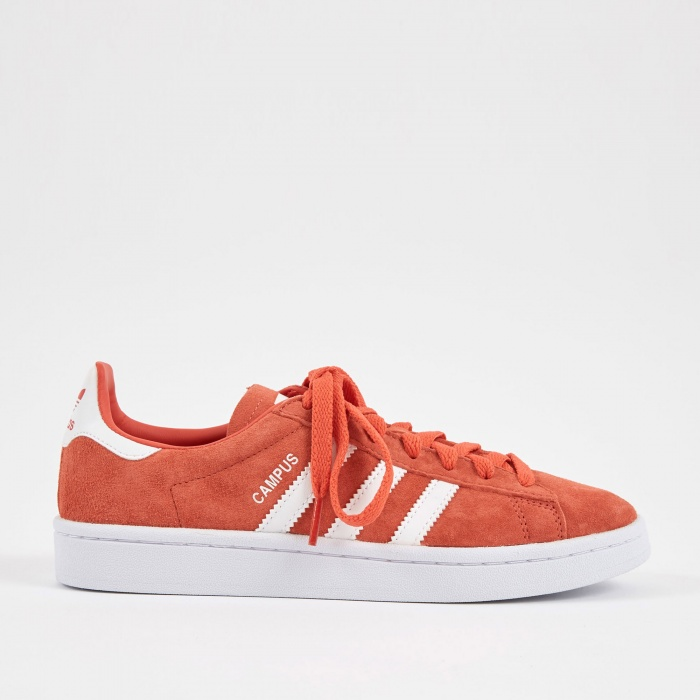 Adidas Campus - Trace Scarlet/White/Silver Metallic (Image 1)