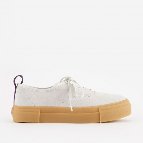 Mother Suede - White/Gum