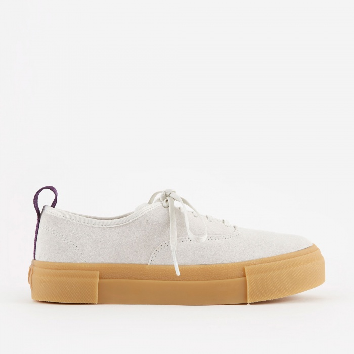 Eytys Mother Suede - White/Gum (Image 1)