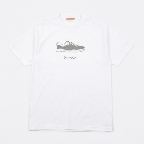Sample Shoes T-Shirt - White