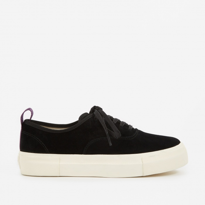 Eytys Mother Suede Sneakers - Black (Image 1)