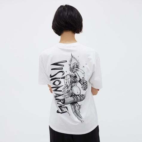 Vulture Short Sleeve Tee - White