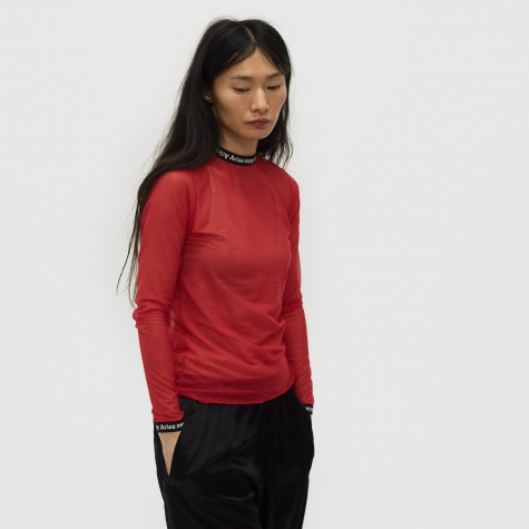 Logo Mesh Top OG - Red