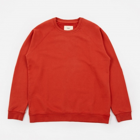 Rivet Sweatshirt - Desert Red
