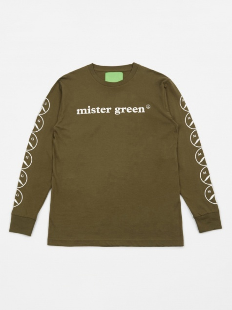 Woodmark L/S T-Shirt - Army