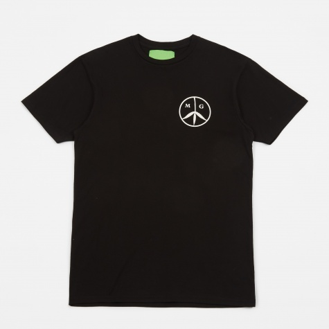 Peace Logo T-Shirt - Black