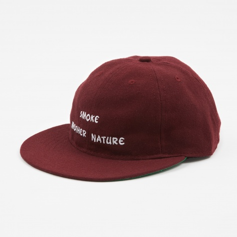 Smoke Mother Nature Cap - Maroon