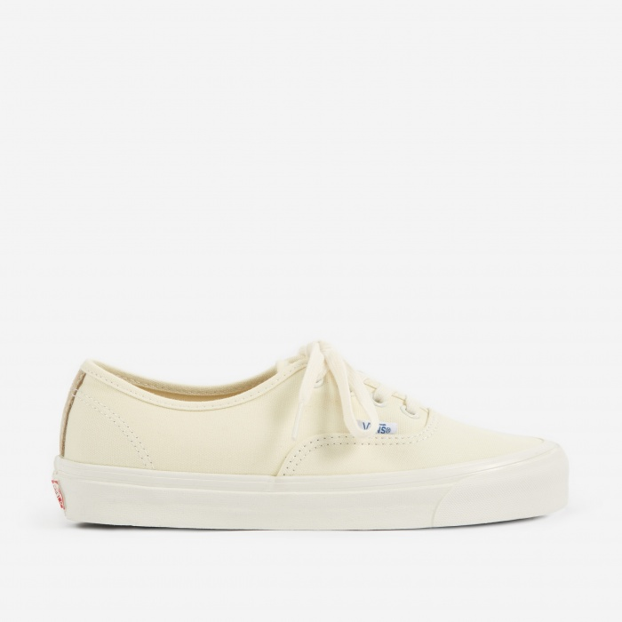 Vans Vault OG Authentic LX - Classic White/Safari (Image 1)