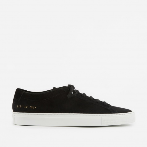 Achilles Low Suede - Black