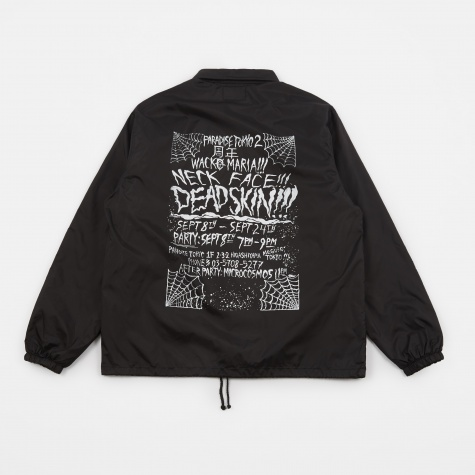 x Neckface Coach Jacket - Black