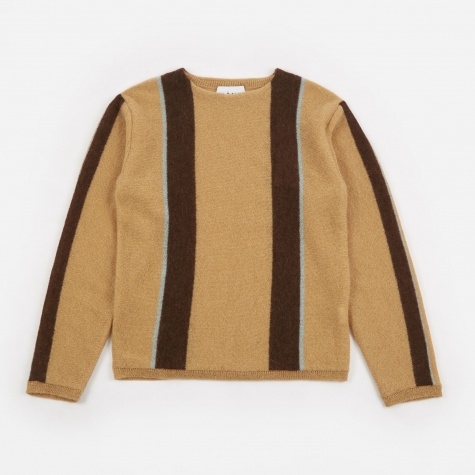 Stripe Sweater - Camel