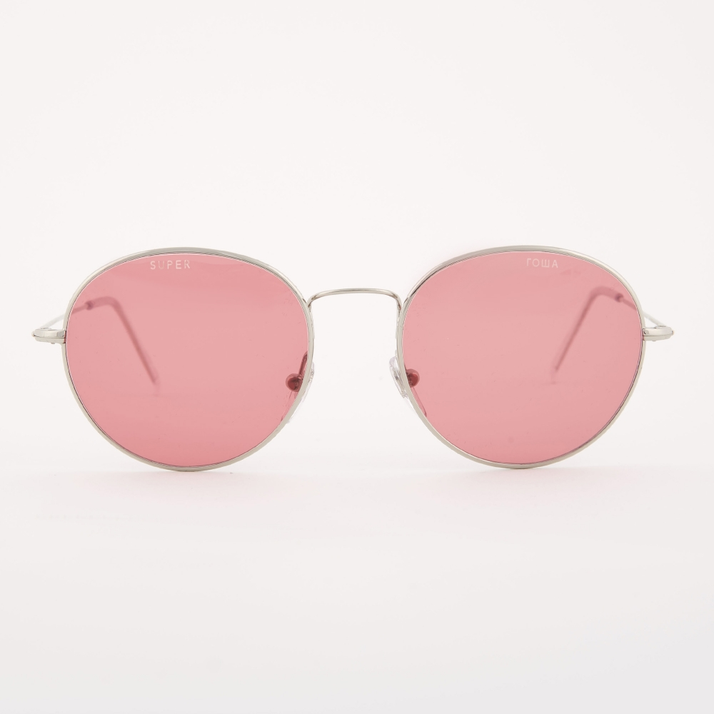 Silver and Pink Super Edition Wire Sunglasses Gosha Rubchinskiy J0R888