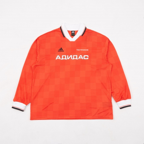 Adidas L/S Top - Red