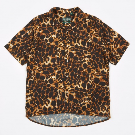 S/S Camp Shirt -  Leopard
