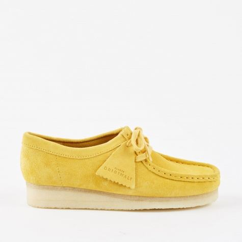 Clarks Wallabee - Yellow Suede