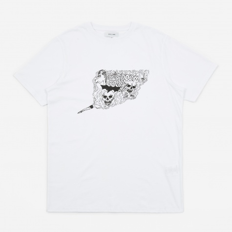 Kessler Printed T-Shirt - White