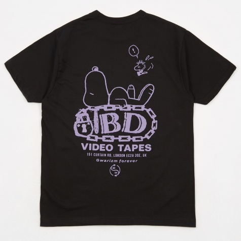 Tapes Reissue T-Shirt - Black *Exclusive*