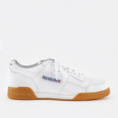 Workout Plus R12 - White/Reebok Royal/Flat Grey