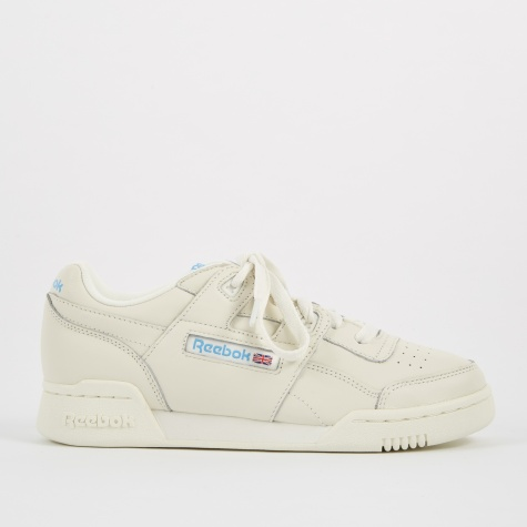 Workout Plus - Chalk/Authentic Blue