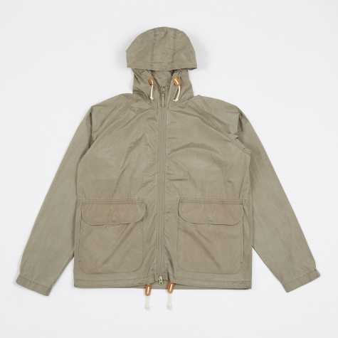 Hooded Windbreaker - Warm Stone