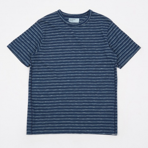 Stripe T-Shirt - Indigo