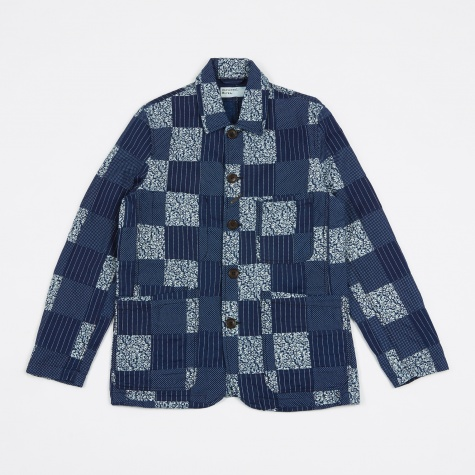 Bakers Patchwork Jacket - Indigo