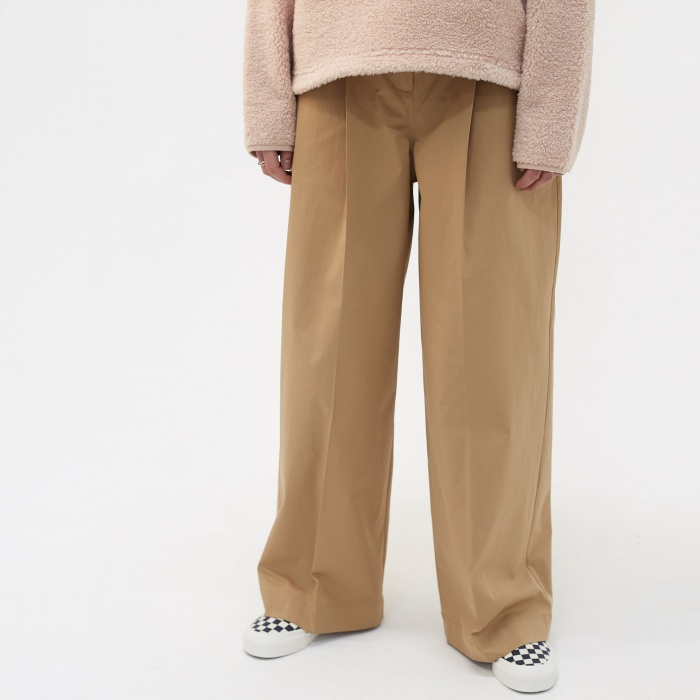 YMC Keith Trousers - Khaki (Image 1)