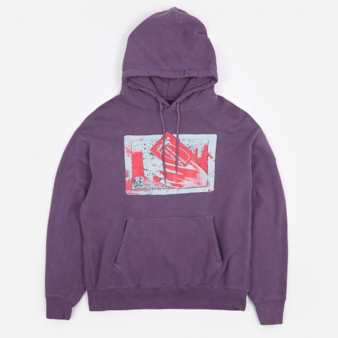 C.E Cav Empt Own/Control Heavy Hooded Sweatshirt - Purple