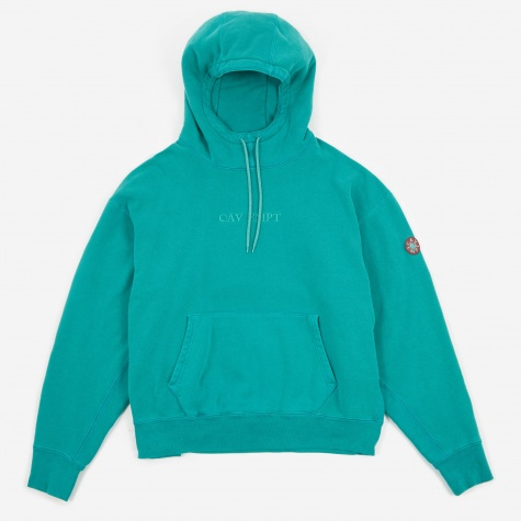 C.E Cav Empt Overdye Heavy Hooded Sweatshirt - Green