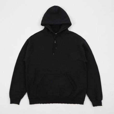 Savege Sweat Parka - Black